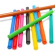 Colored felt pens — Stock Photo
