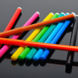 Colored felt pens - Stock Photo