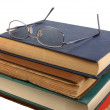 Royalty-Free Stock Photo: Glasses and books.