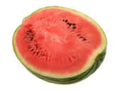 Crop of ripe slice watermelon. — Stock Photo