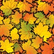 Royalty-Free Stock ベクターイメージ: Maple leaf abstract background.