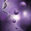 Royalty-Free Stock Векторное изображение: Abstract elegance background with balls.