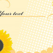 Royalty-Free Stock Vectorielle: Floral frame for your text.