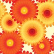 Royalty-Free Stock Vector Image: Abstract flowers background.