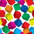 Royalty-Free Stock Imagen vectorial: Abstract cube background.