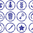 Royalty-Free Stock Vektorfiler: Gadget icons set.
