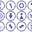 Royalty-Free Stock Vector Image: Gadget icons set.