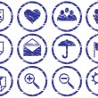 Royalty-Free Stock Immagine Vettoriale: Gadget icons set.