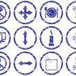 Royalty-Free Stock Векторное изображение: Gadget icons set.