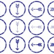 Royalty-Free Stock Vector Image: Arrows icons set.