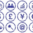 Royalty-Free Stock Vektorgrafik: Gadget icons set.