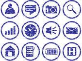 Aracı icons set. — Stok Vektör