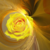 Abstract elegance background. Yellow - o — Stock Photo