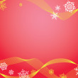 Royalty-Free Stock Vektorgrafik: Red Christmas background.