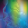 Abstract elegance background with dots. - Image vectorielle