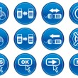 Gadget icons set. — Stock Vector