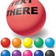 Royalty-Free Stock Vector Image: Set of free color balls.