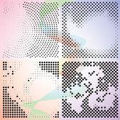 набор абстрактных элегантность градиента фонов — Cтоковый вектор