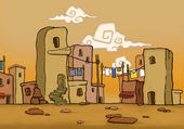 Arabic quarter — Stock Photo