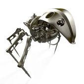 Robot - spider - spy — Stock Photo