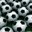 Football balls — Stock Photo #1530611