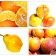Stock Photo: Set of fruits