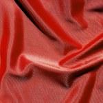 Elegant and soft red satin background — Stock Photo