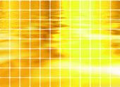 Golden like mosaic flickering square vec — Stock Photo