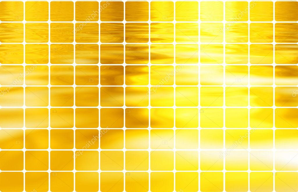 Golden mosaic — Stock Photo #1584581