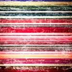 Shabby striped background — Stock Photo