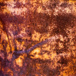 Royalty-Free Stock Photo: Warm rusty surface metal