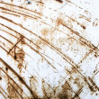 Royalty-Free Stock Photo: Rusty scratched metal sheet