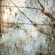 Royalty-Free Stock Photo: Stained grungy metal sheet