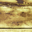 Weathered rusty metal surface — Stock Photo