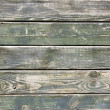 Stock Photo: Weathered plank green