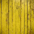 Royalty-Free Stock Photo: Yellow grungy wooden plank