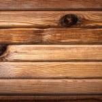asse di legno orizzontale — Foto Stock