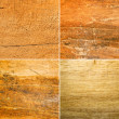 Grungy and scratched wood — Stock Photo