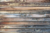 Väderbiten planka — Stockfoto