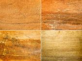Drewno nieczysty i porysowany — Zdjęcie stockowe