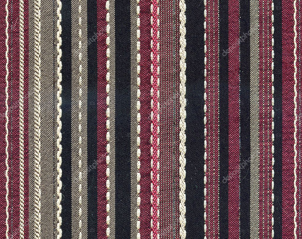 Elegant fabric from the vertical colored stripes — Stock Photo #1006024