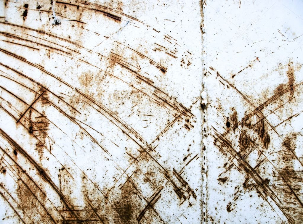 Heavy industrial background from rusty and scratched surface metal — Stock Photo #1006327