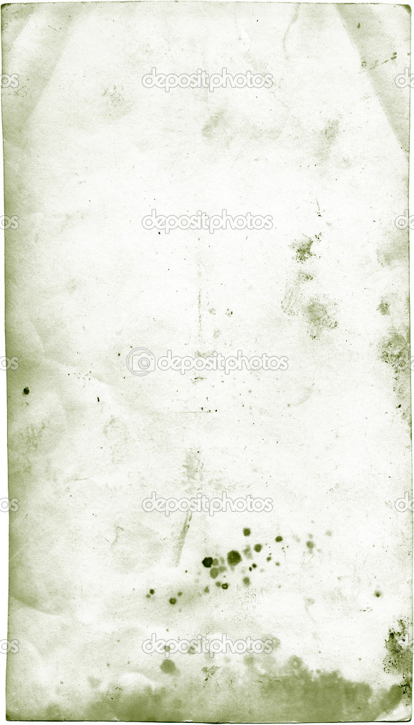 Isolated old dirty stained a back photocard  Stock Photo #1007141