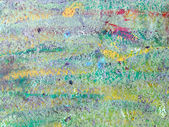 Abstract vibrant colors painted wall sur — Stock Photo