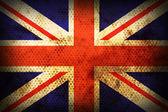 Weathered flag of United kingdom — Stock Photo