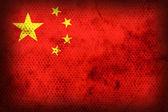 Weathered flag of China — Stock Photo