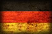 Weathered flag of Germany — Stock Photo