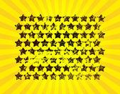 Super estrella — Vector de stock