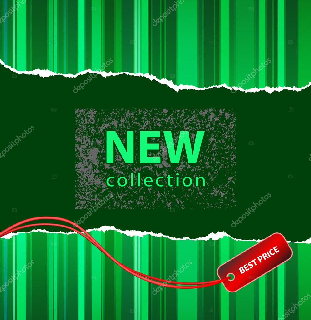 Vector style design for a fashion new collection or marketing action  Stock Vector #1036844