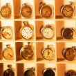 Collection of old hours — Stock Photo